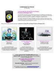 Les lauréats du Grand Prix du Disque Produit en Bretagne 2013