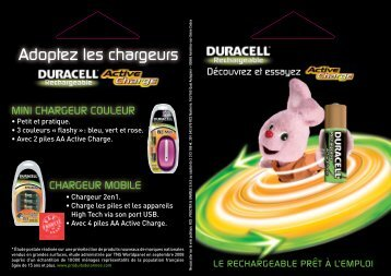Adoptez les chargeurs