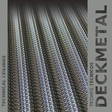 Los techos de tejido metálico - Produktfakta