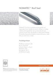 NOMATEC® Roof Seal - Produktfakta