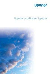 UVS Brosjyre Norge 010113 - Uponor