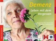 Demenz - Alzheimergesellschaft Hildesheim eV