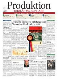 Deutsche Industrie Erfolgsgarant für soziale ... - Produktion
