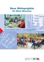 Neue Wohnprojekte für ältere Menschen - Allbau