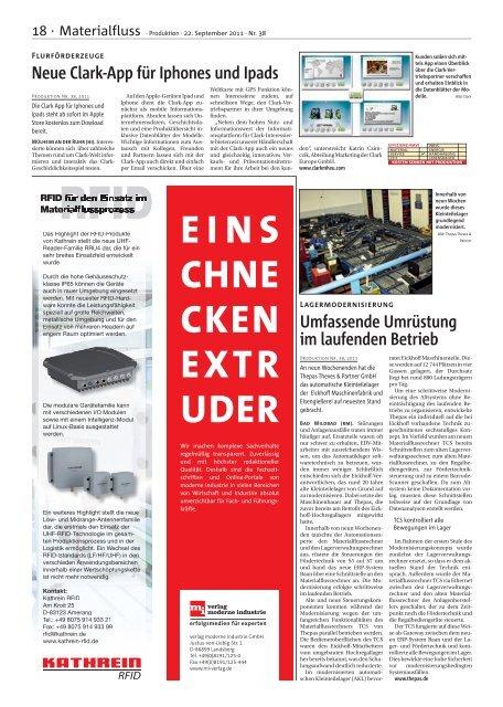 Ausgabe - 38 - 2011 - Produktion