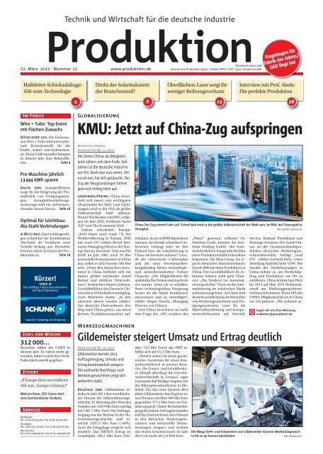 Ausgabe - 12 - 2012 - Produktion