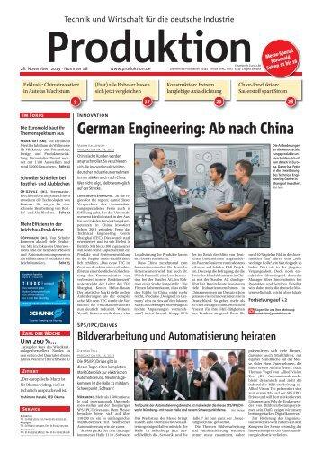 Ausgabe - 48 - 2013 - Produktion