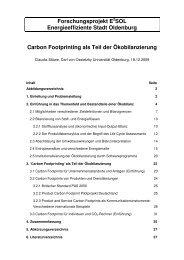 Carbon Footprinting als Teil der Ökobilanzierung - Produktion und ...