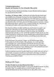 Houdek ruft Premium Tex Mex Frikadelle 500g zurück Freiwilliger ...