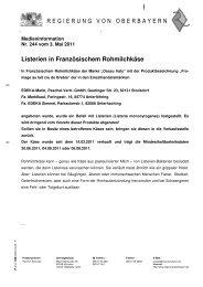 Listerien in Französischem Rohmilchkäse - Produktrueckrufe.de