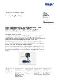 Weitere Informationen im PDF-Format - Produktrueckrufe.de