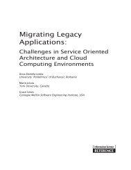 Migrating Legacy Applications: - pro et con