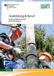 Rechte und Pflichten während der Berufsausbildung - IHK Trier