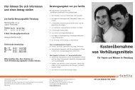 Kostenübernahme von Verhütungsmitteln - pro familia Schleswig ...