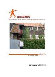 Jahresbericht 2010 - pro familia Schleswig-Holstein