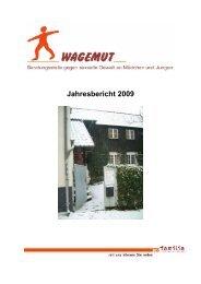Jahresbericht 2009 - pro familia Schleswig-Holstein