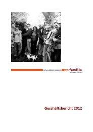 Geschäftsbericht 2012 - pro familia Schleswig-Holstein