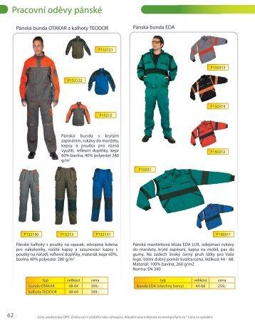 Pracovní oděvy pánské - Profarm