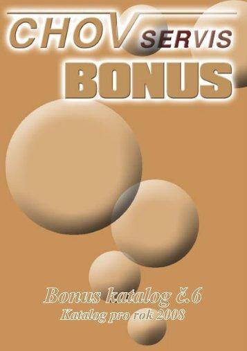 Bonus katalog č.6 - Profarm