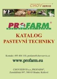 Pastevní technika(.pdf) - Profarm