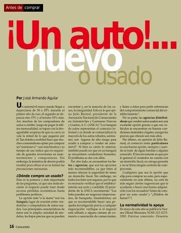 Antes De Comprar ¡Un Auto! - Profeco