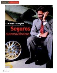 Seguros automovilísticos - Profeco