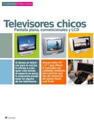 Televisores chicos de pantalla LCD - Profeco