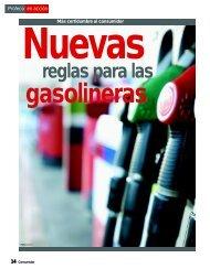Nuevas reglas para las Gasolineras - Profeco