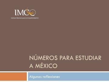 Números para estudiar a México - Profeco