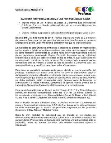 EL COSTO DE 12 APARATOS DE LÍNEA BLANCA Y ... - Profeco