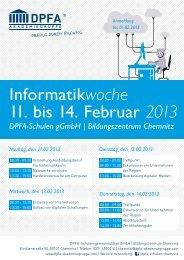 Bildungszentrum Chemnitz Montag, den 11.02.2013