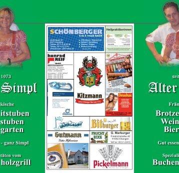 itstuben stuben garten holzgrill Brotze Wein Bier Buchen - Alter Simpl