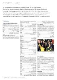 Produktionstelegramm aus PP 07+08/08 - Professional Production