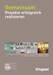 Broschüre Projekte Gemeinsam realisierenpdf, 8.8 MB - Legrand ...