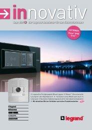 Innovativ September 2009pdf, 5.2 MB - Legrand - Legrand Austria ...
