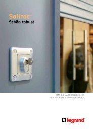Broschüre Schalterprogramm Soliroc™pdf, 0.9 MB - Legrand ...