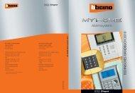 Alarmsystem TECHNISCHES HANDBUCH 2010 - Legrand ...