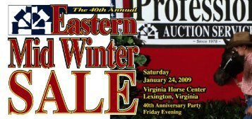 the eastern mid winter sale - Professional Auction Services, Inc.
