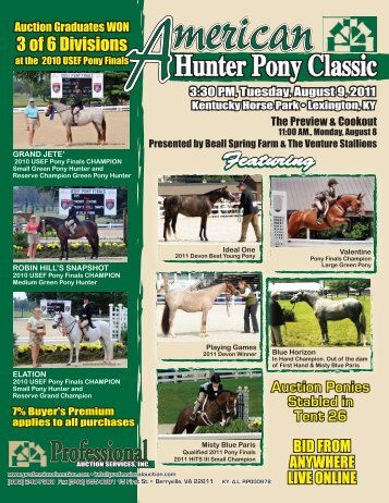 Download The Sale Catalog - Professional Auction Services, Inc.