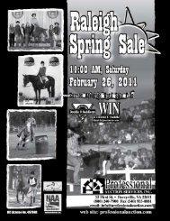 Sale Schedule - Professional Auction Services, Inc.