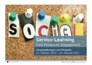 interaktive Bild-Dokumentation der Projekte des Wintersemesters ...