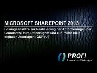PROFI-Business-Fruehstueck-SharePoint-GDPdU