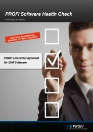 Flyer PROFI Software Health Check - PROFI Engineering Systems AG