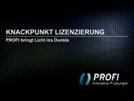 PROFI-Business-Fruehstueck-Lizenzierung