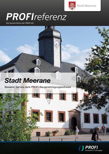 Stadt Meerane - PROFI Engineering Systems AG