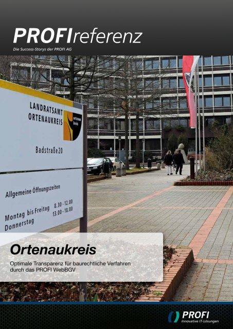 Ortenaukreis - PROFI Engineering Systems AG
