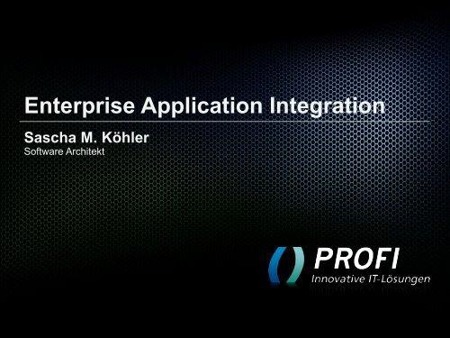Software Architekt - PROFI Engineering Systems AG