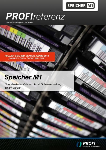 Neue Referenz mit Speicher M1 - PROFI Engineering Systems AG