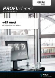 +49 med - PROFI Engineering Systems AG