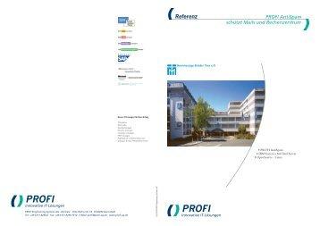 Referenzbericht lesen - PROFI Engineering Systems AG